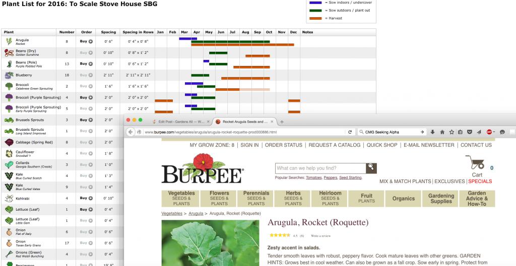 The Garden Planner Plant List