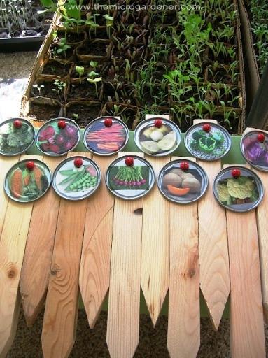 http://stillparenting.blogspot.com.au/2009/04/juice-lid-garden-markers.html