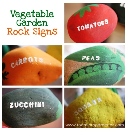 http://www.repeatcrafterme.com/2012/04/vegetable-garden-rock-signs.html