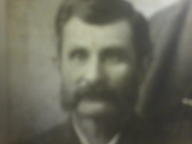 Bryan Wagner's great, great, great grandfather, Sylvester Wagner, 2nd generation farmer.