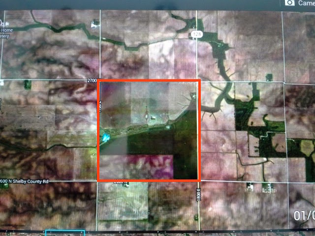 Organic Farm, Organic farm from google earth