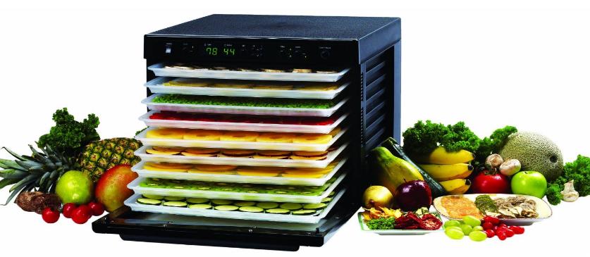 Sedona Digitally Controlled Food Dehydrator
